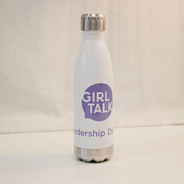 Girl Talk Water Bottle