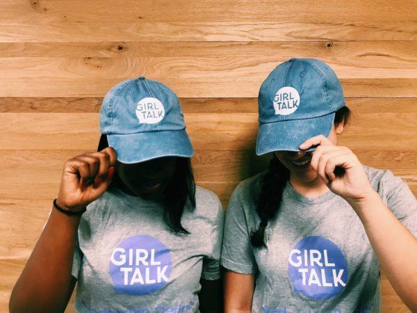 Girl Talk Baseball Cap
