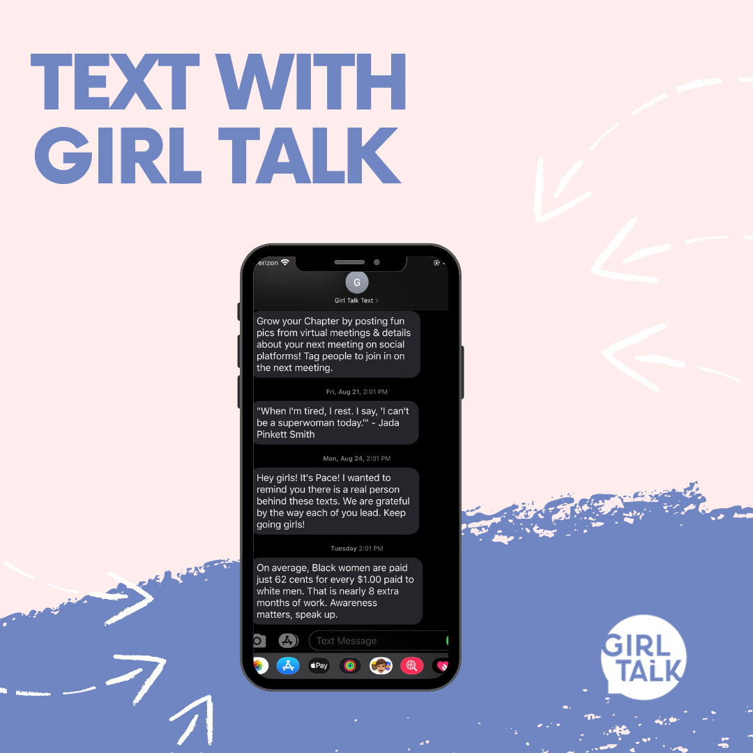 Text with girl talk copy 2